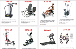 exercise equipment sale
