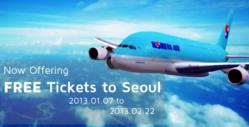 Free airline tickets to Seoul South Korea Seoul Touchup