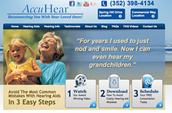 hearing aids in Spring Hill FL - AccuHear offering complimentary consultation
