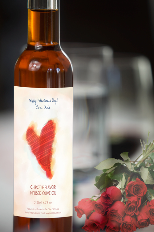 The Olive Oil Source Introduces Valentines Day Labels For