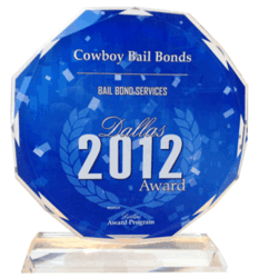 Cowboy Bail Bonds 2012 Award