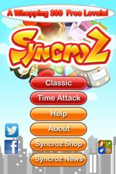 Syncroz Connect Free main screen