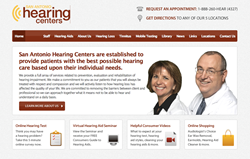 hearing aids in San Antonio TX - San Antonio Hearing Centers new website