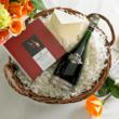 Deluxe Spanish Cava and Chocolates Basket