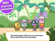 Wubbzy, Dinosaurs, Kids Apps