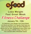 4food Fitness Challege :: Lose Weight, Feel Great Week 2013