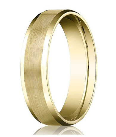 Mens Comfort Fit Gold Wedding Bands 28 Images 18k