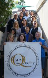 Glen Ivy Team Members Celebrate SpaExcellence Award