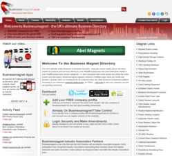 Business Magnet Directory Homepage