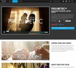 Final Cut Pro X Plugin - ProLumetric Volumetric Light - Pixel Film Studios - FCPX Effects