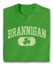 Personalized Irish Varsity Shirt