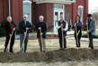 Photo Cutline (left to right): Cherokee Nation Supreme Court Chief Justice Darrell Dowty and Cherokee Nation Supreme Court John C. Garrett join Cherokee Nation Principal Chief Bill John Baker and Cherokee Nation Supreme Court Justices James Wilcoxen, Angela Jones and Troy Wayne Poteete in breaking ground on a new construction project to renovate the Cherokee National Capitol building in Tahlequah, Okla. The building currently houses the judicial branch of the Cherokee Nation government.
