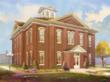 Photo Cutline: An artist's rendering of the renovated Cherokee National Capitol building. Work on the building is expected to be completed by summer 2013.