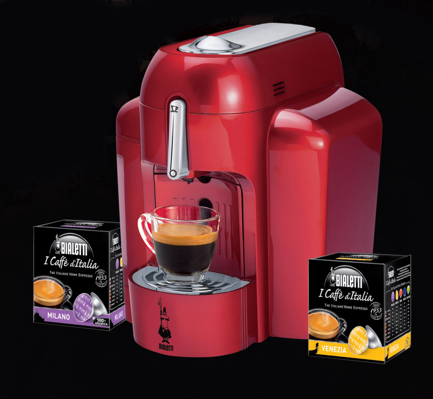 Bialetti S New Electric Single Serve Espresso System