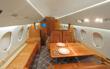 Falcon 900 Charter Jet Interior
