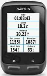 garmin edge 510, touch screen, navigation