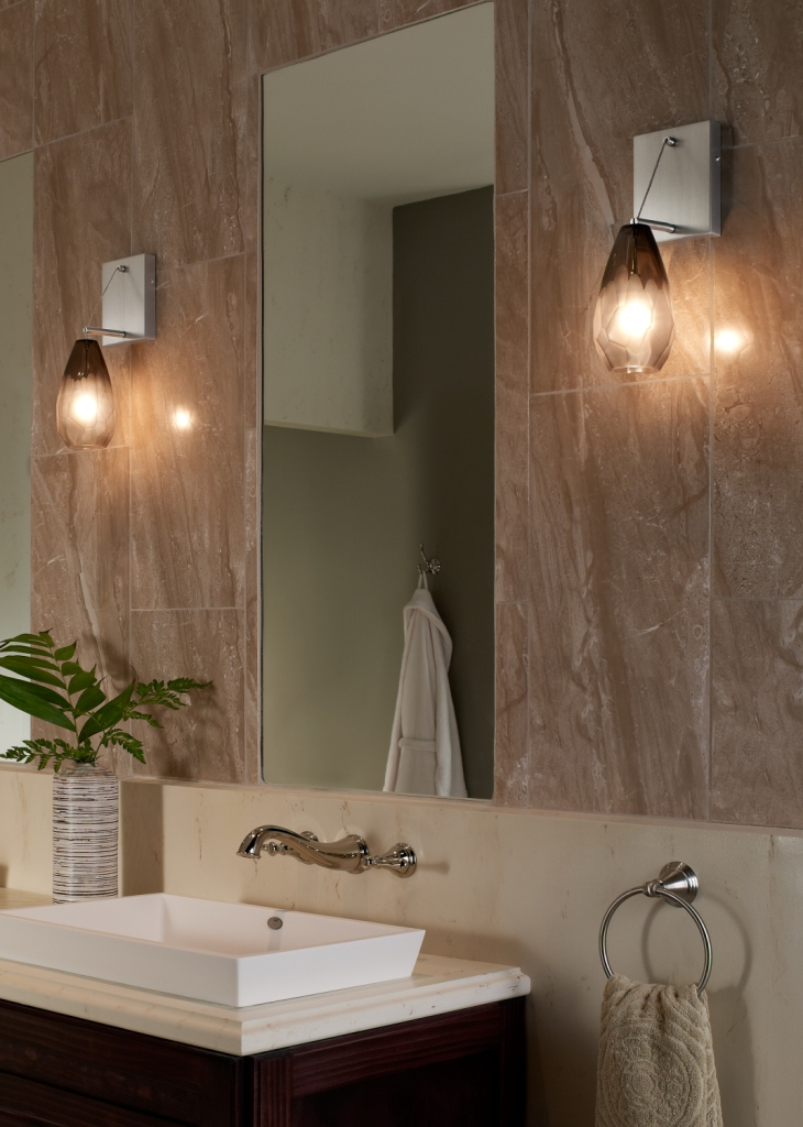 The new Ona wall canopy by LBL Lighting transforms pendant lights into wall sconces. & LBL Lighting New 2013 Products to Debut at 2013 January Dallas Market azcodes.com