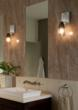 The new Ona wall canopy by LBL Lighting transforms pendant lights into wall sconces.