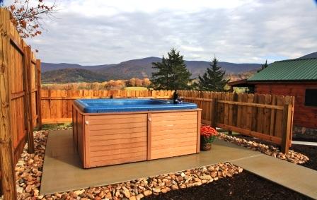 Hawksbill retreat newest luray va cabin rental is now open for Cabin rentals near luray va