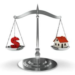 Refinancing upside down mortgage