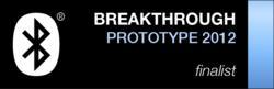 Bluetooth New Product Prototype Breakthrough Award Finalist