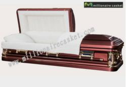 New Metal Casket from MillionaireCasket.com