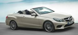 New Mercedes E-Class Cabriolet