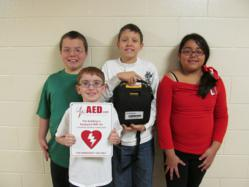 aed donation to half hearted hero