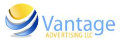 Vantage Advertising, LLC logo.