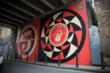 Shepard Fairey's Bateman's Row Mural