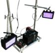 UV Paint Curing Cart with Wheels - Battery Powered - LED