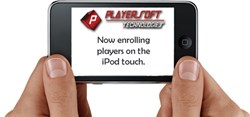 Playersoft uses iPod and iPad touch technology