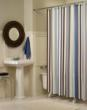 M. Style Flo Stripe Shower Curtain
