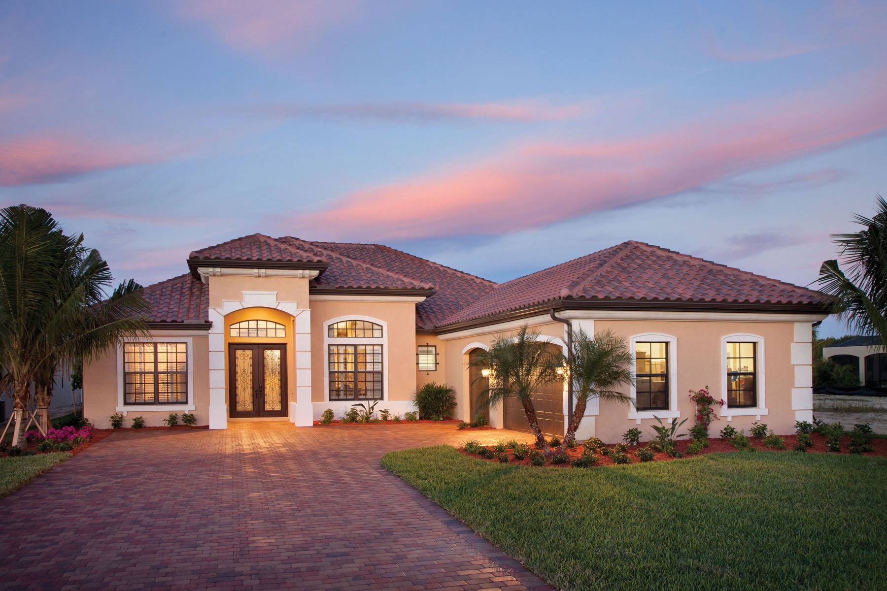 Small Ranch Style Home Plans Bougainvillea Luxury Model Home Completed At Runaway Bay