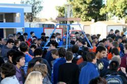 FIRST Robotics kickoff event San Diego