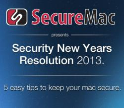 Security New Years Resolution for Apple Mac Users of Mac OS X