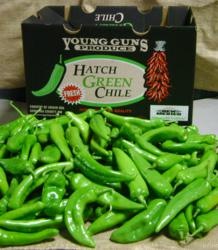 Box of green chile