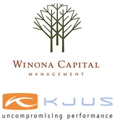Winona Capital and KJUS Logos