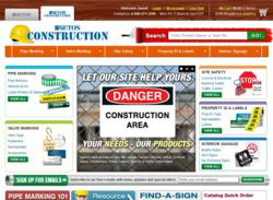 Seton Construction website