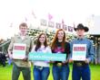 Pictured are high school students from Unity High School in Tolono, Illinois, a 2012 recipient of an America's Farmers Grow Rural Education grant.