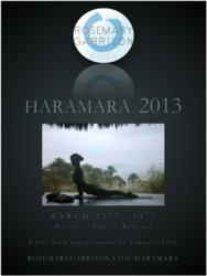 2013 Haramara Yoga Retreat Flyer