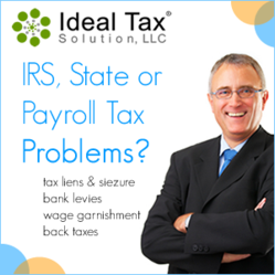 Ideal Tax Solution, LLC IRS, State Or Payroll Tax Problems?