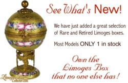 Rare & Retired French Limoges Boxes at LimogesBoxCollector.com