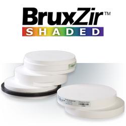 BruxZir™ Shaded Zirconia Milling Blanks