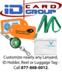 Custom-Printed ID Accessories for Events, Promotions, Employee ID...