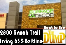 surface decoru0027s newest location near dfw airport next door to the dump furniture store - The Dump Furniture Store