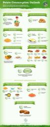Potato Consumption Outlook - An Infographic from Potato Expo 2013