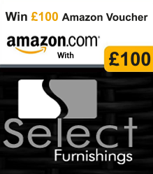 £100 in Amazon vouchers - Select Furnishings