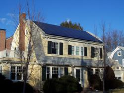 Solar on House in Providence Rhode Island
