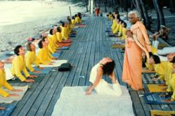 Yoga teacher training course